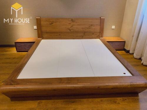Giường gỗ óc chó cao cấp Hải Phòng