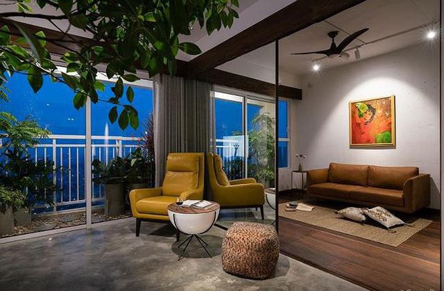 Căn hộ chật hẹp bỗng đẹp miễn chê nhờ thiết kế nội thất thông minh - Ảnh 2.