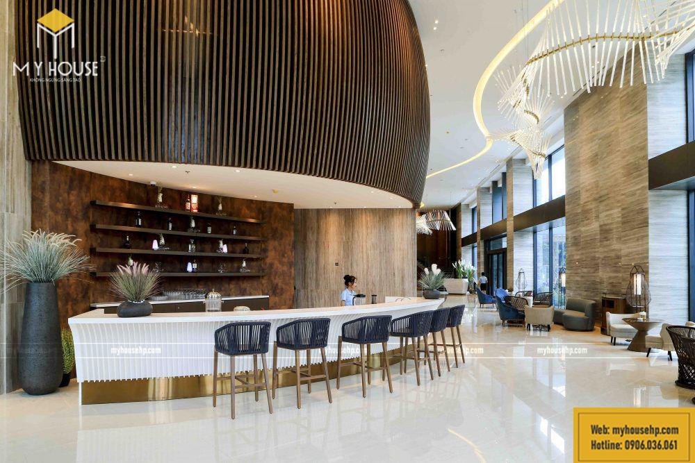 nội thất hoàn thiện tại khách sạn Dragon Style