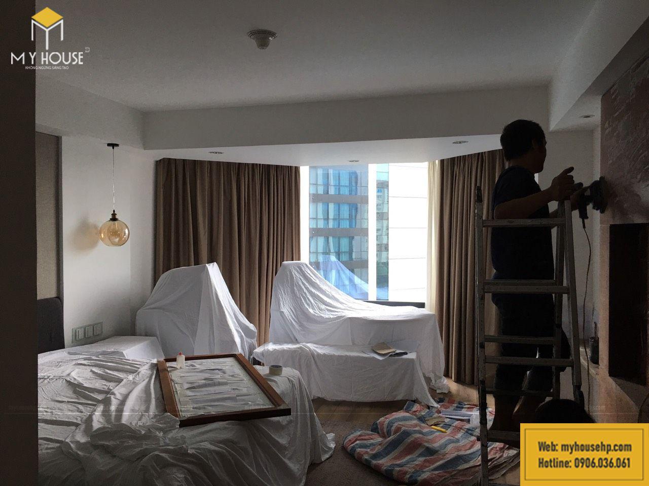 Thi công nội thất trong phòng khách sạn Crowne Plaza-