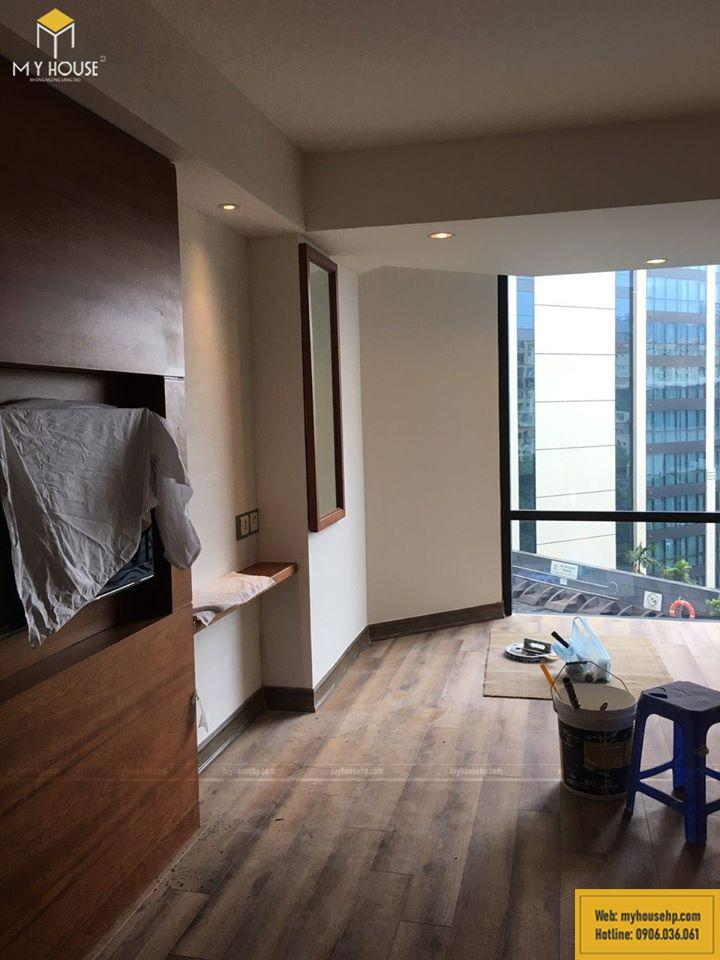 Thi công nội thất trong phòng khách sạn Crowne Plaza
