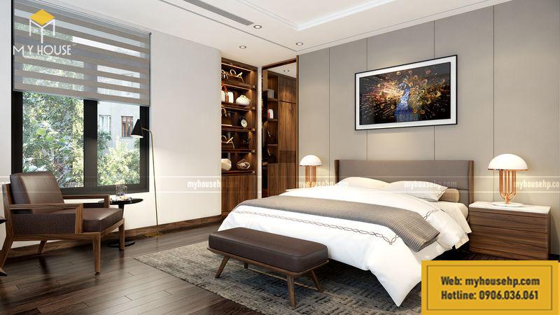 Phòng ngủ biệt thự đơn lập