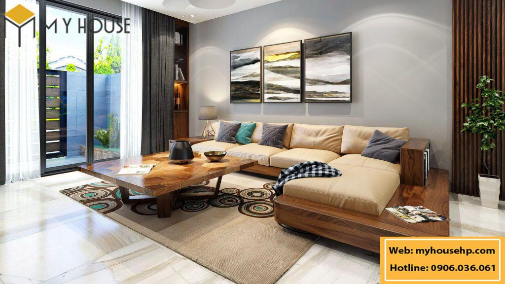 Thiết kế nội thất biệt thự tại Hải Phòng