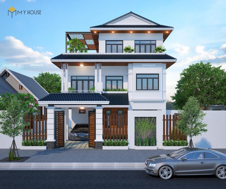Thiết kế Biệt thự đẹp tại Hải Phòng