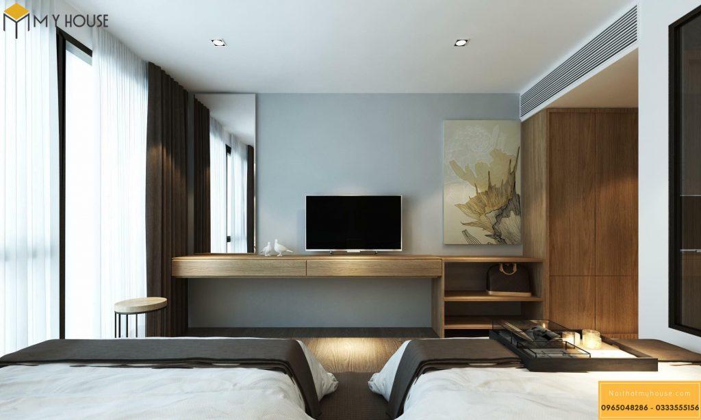 Phòng ngủ khách sạn 5 sao hiện đại _ View 5