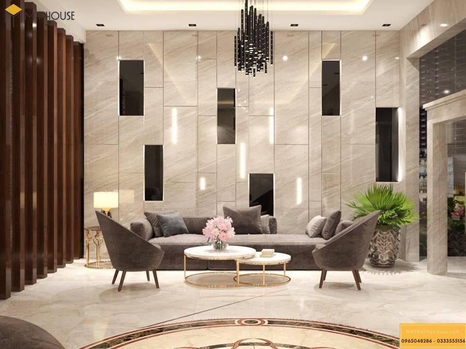 Sảnh khách sạn 4 sao hiện đại _ View 2
