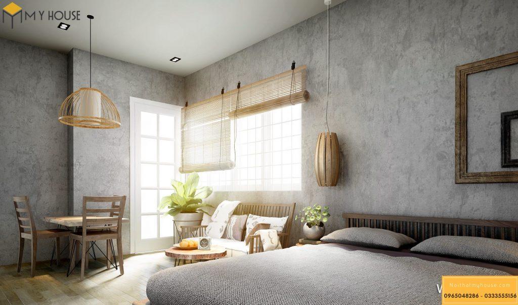 Phòng ngủ khách sạn 4 sao hiện đại _ View 4