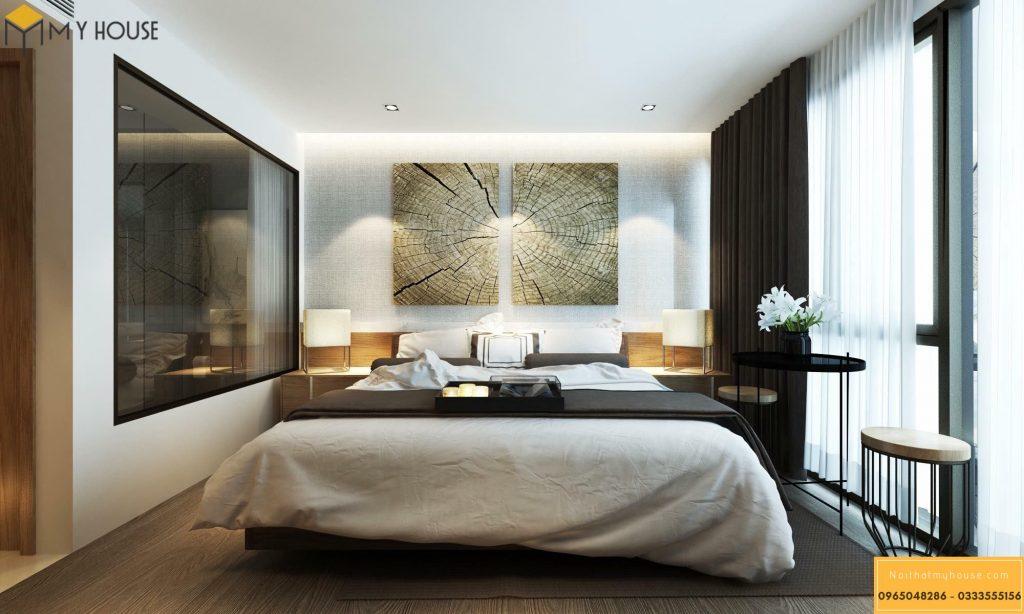 Phòng ngủ khách sạn 5 sao hiện đại _ View 1