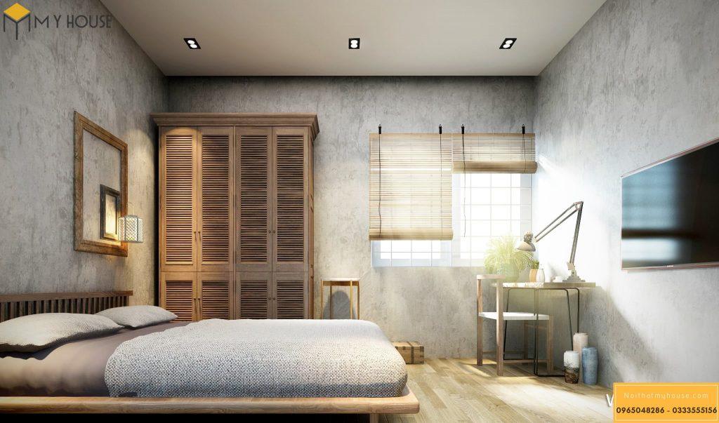 Phòng ngủ khách sạn 4 sao hiện đại _ View 2