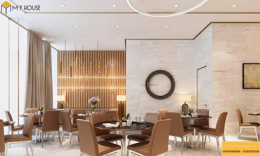 Nhà hàng khách sạn thiết kế ấn tượng