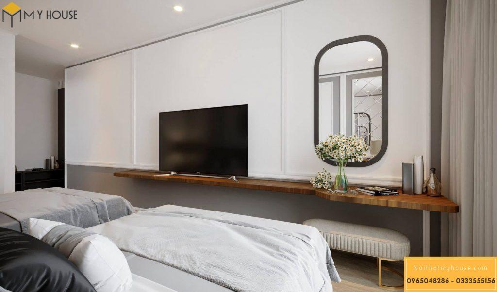 Phòng ngủ khách sạn 3 sao hiện đại đẹp _ View 3