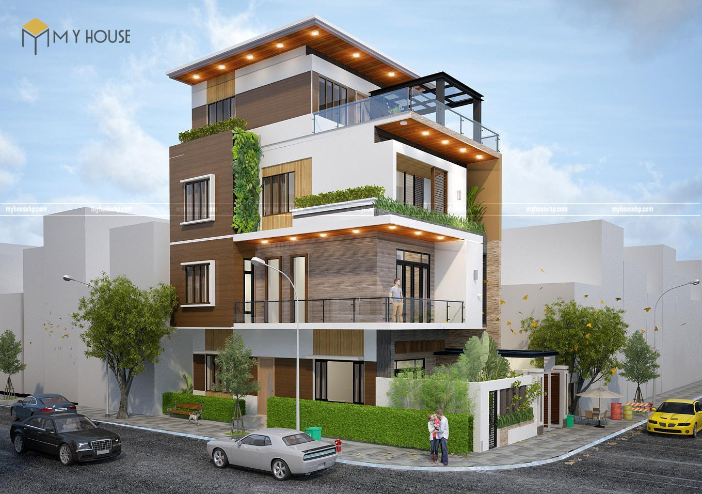 thiết kế nhà phố đẹp tại Hải Phòng