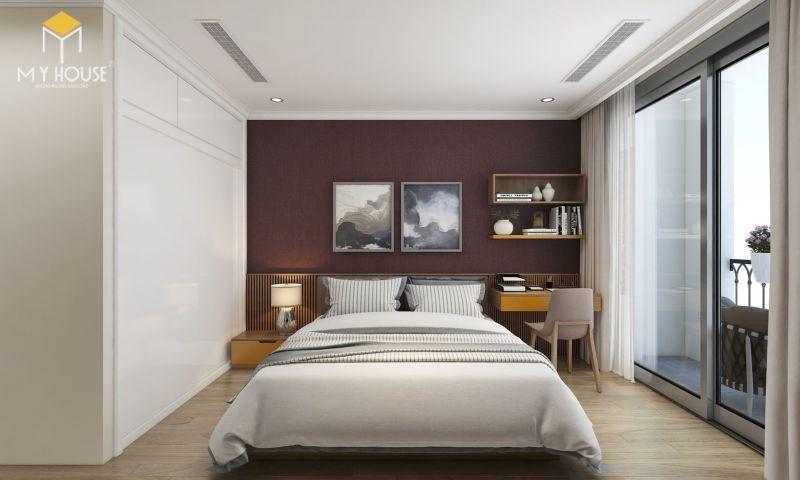 Mẫu thiết kế nội thất căn hộ 140m2 - View 4