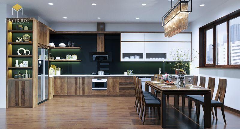 Mẫu thiết kế nội thất căn hộ 120m2 - View 3