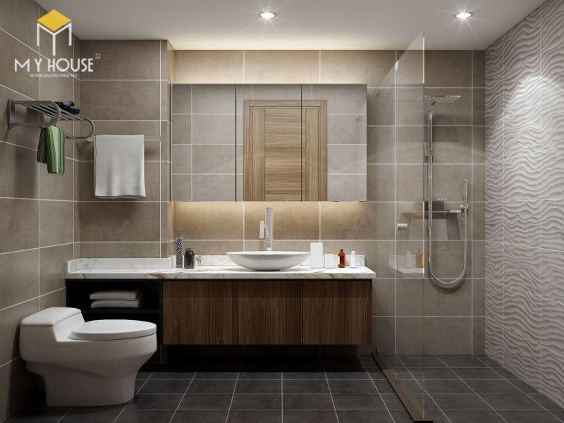 Mẫu thiết kế nội thất căn hộ 140m2 - View 8