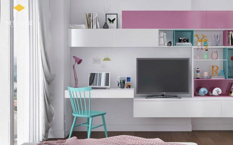 Mẫu thiết kế nội thất căn hộ 150m2 - View 6