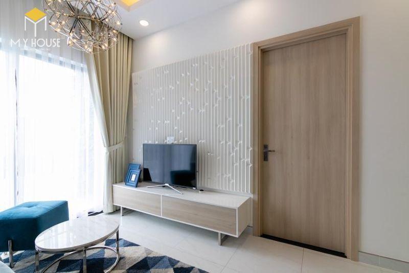 Mẫu thiết kế nội thất căn hộ 95,5m2 - View 2
