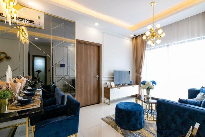 Mẫu thiết kế nội thất căn hộ 95,5m2 - View 3
