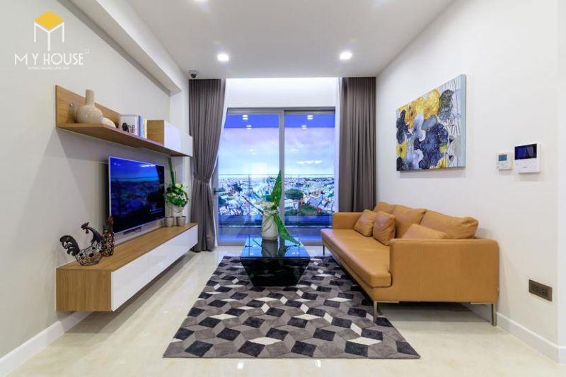 Mẫu thiết kế nội thất căn hộ 115m2 - View 1