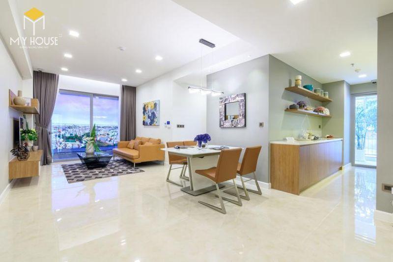 Mẫu thiết kế nội thất căn hộ 115m2 - View 3