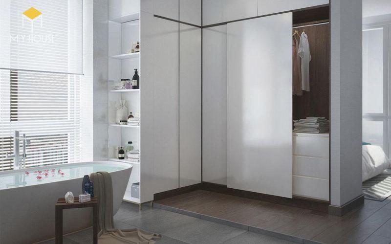 Mẫu thiết kế nội thất căn hộ 150m2 - View 8