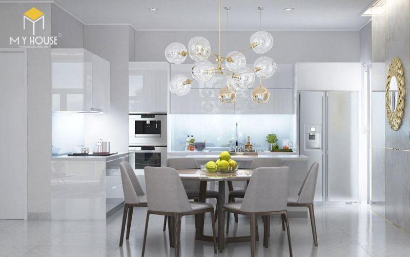 Mẫu thiết kế nội thất căn hộ 150m2 - View 3