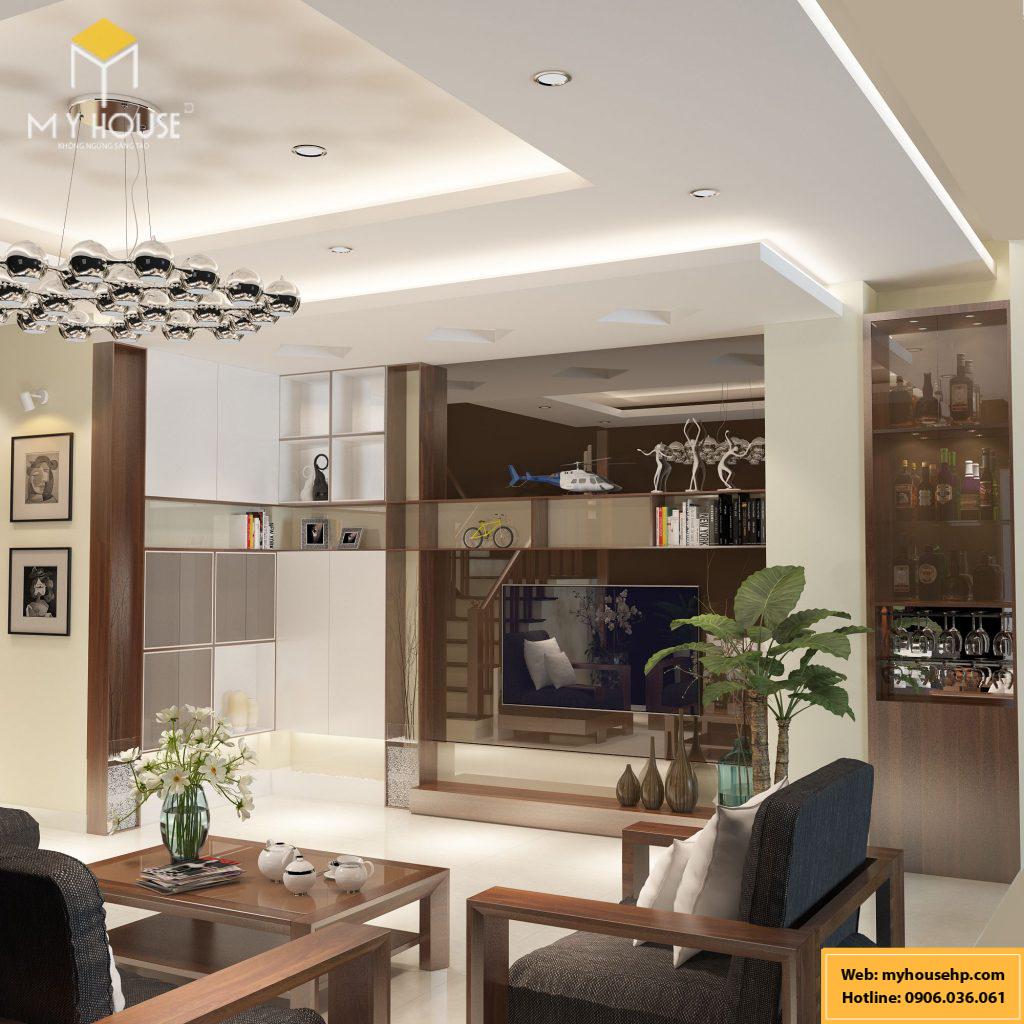 Thiết kế nội thất nhà phố Ecorivers Hải Dương