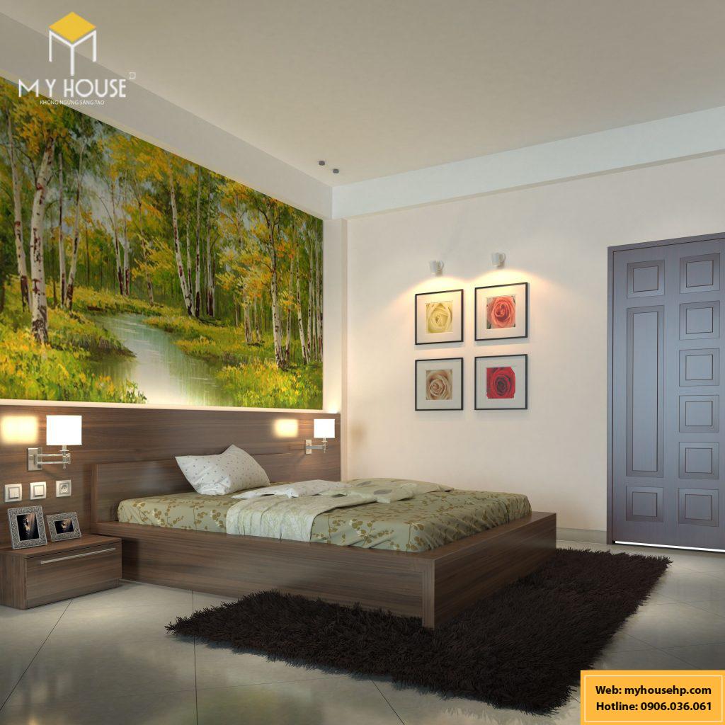 Thiết kế nội thất phòng ngủ Ecorivers Hải Dương
