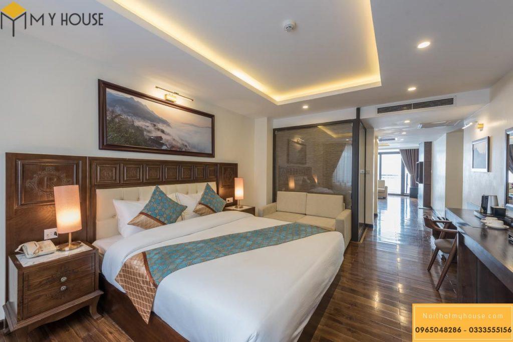 Thiết kế ấn tượng tạo dấu ấn cho khách sạn