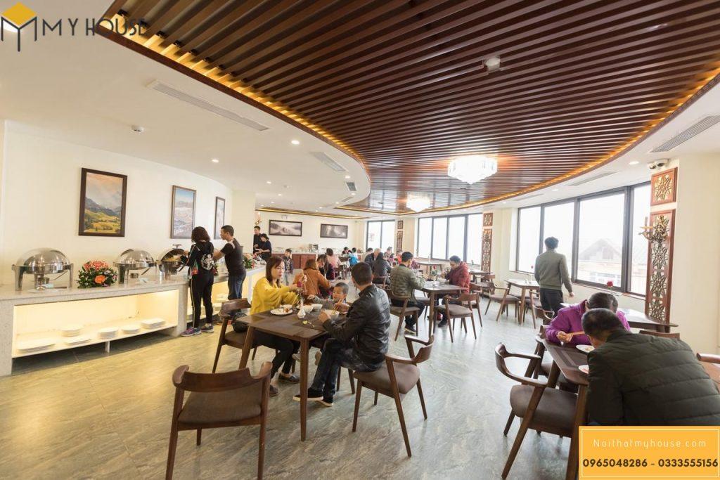 Thiết kế nội thất nhà hàng khách sạn 3 sao