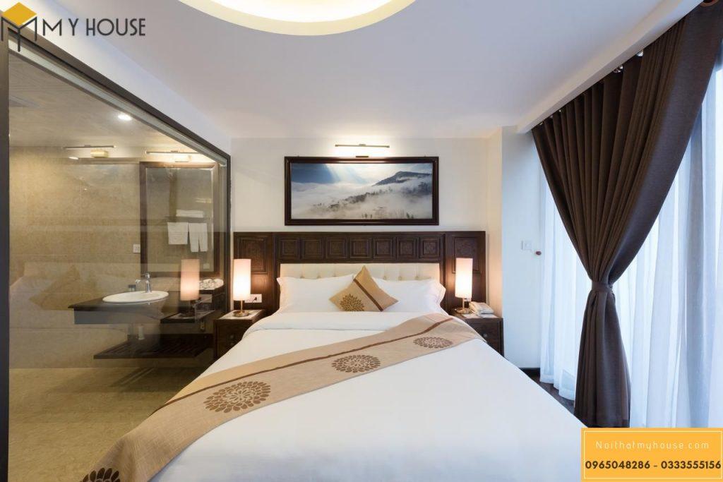 Nội thất phòng ngủ khách sạn 3 sao