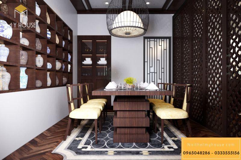 Phòng ăn nhà hàng kiểu Nhật Bản - View 2