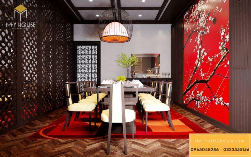 Phòng ăn nhà hàng kiểu Nhật Bản - View 4