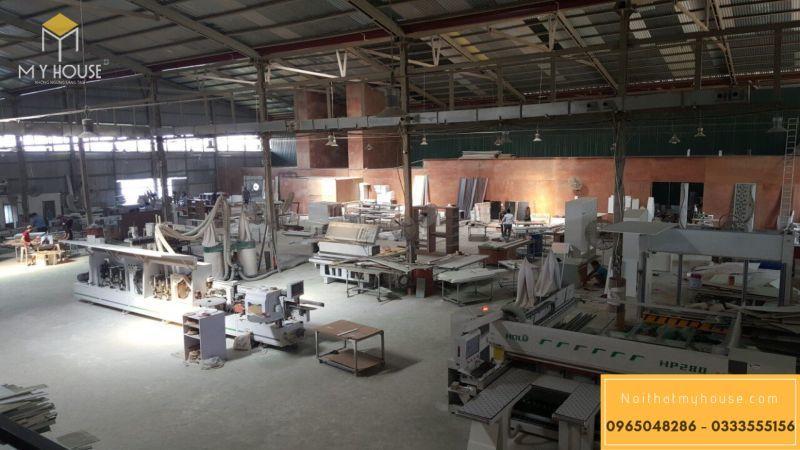 Nhà máy sản xuất Nội thất - View 2