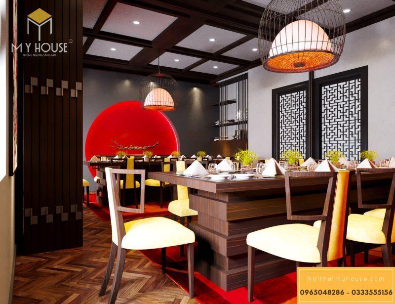 Phòng ăn nhà hàng kiểu Nhật Bản - View 1