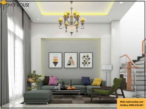 Thiết kế nội thất nhà phố 3 tầng tại Hải Phòng