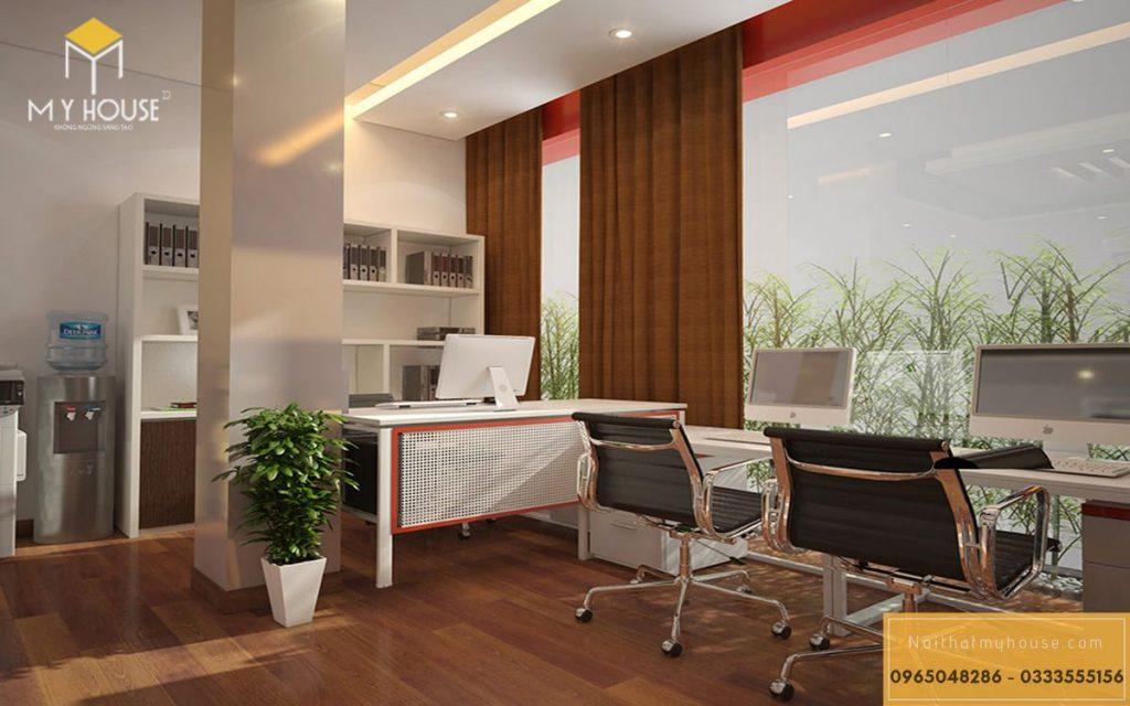 Không gian làm việc của nhân viên - View 3