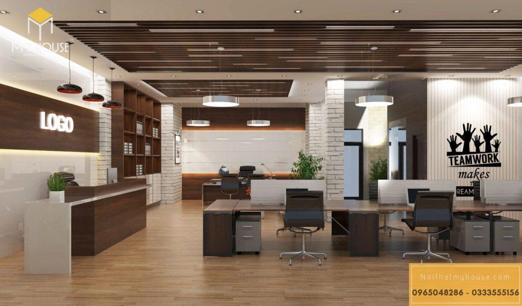Không gian làm việc của nhân viên - View 1