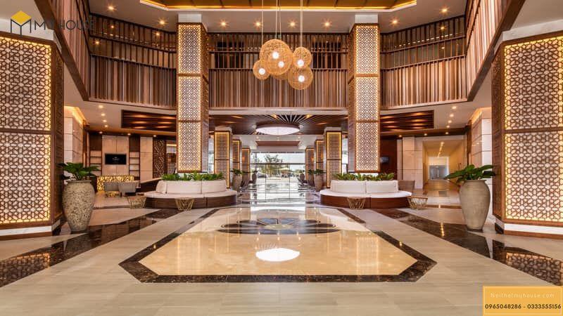 Đại sảnh khách sạn sang trọng cao cấp