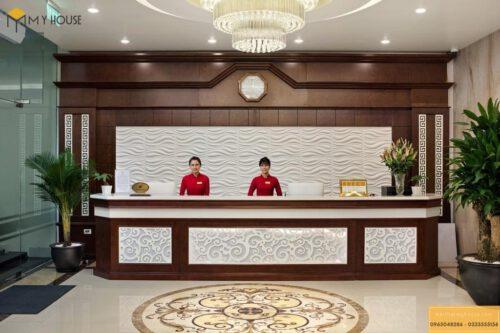 Cách bố trí quầy lễ tân khách sạn