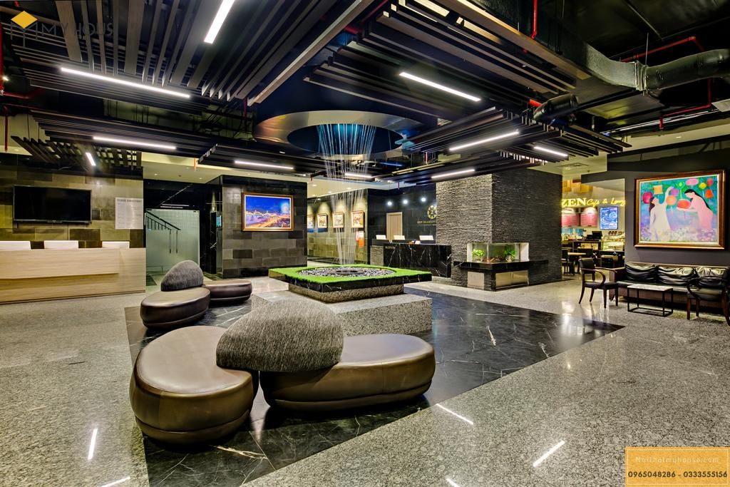 Quầy thiết kế nội thất quầy lễ tân khách sạn 5 sao