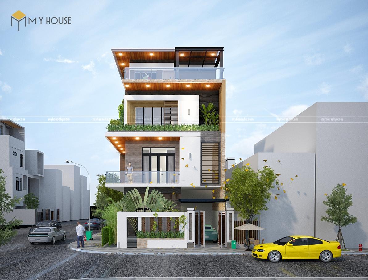 thiết kế nhà phố tại Hải Phòng